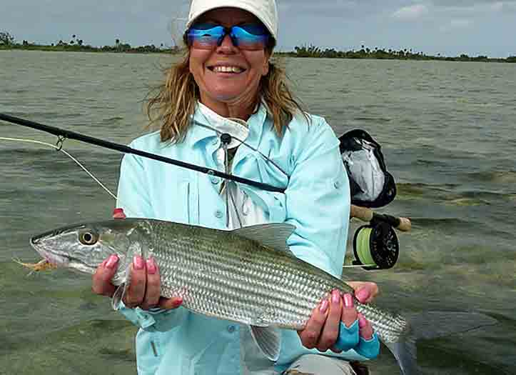Bonefishing Ascension bay Fly Fishing Lodge