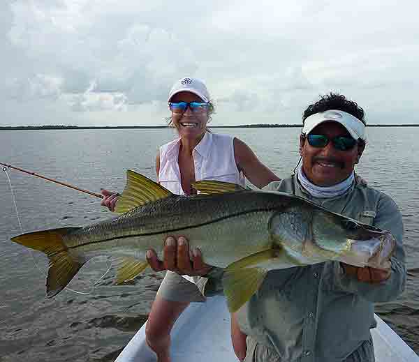 Ascension Bay Fly Fishing Lodge Snook Fishing